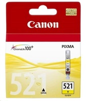 Canon BJ CARTRIDGE yellow CLI-521Y (CLI521Y) - BLISTER SEC