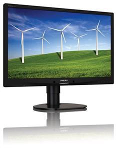 """Philips LCD 241B4LPYCB 24""""wide/1920x1080/5ms/20mil:1/DP/USB/LED/PowerSensor/pivot/repro, černý"""