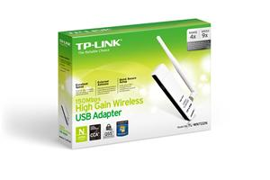 TP-Link TL-WN722N adapter USB Wireless 802.11n/150Mbps