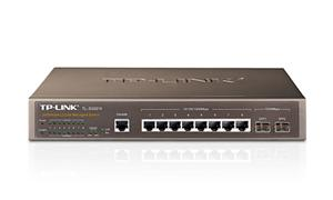 TP-Link TL-SG3210 JetStream™ switch 8x 10/100/1000 Mbs, 2x SFP, managed, rack