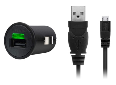 BELKIN Micro CLA USB autonabíječka, kabel, 5V, 1A