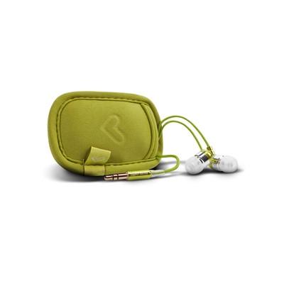 ENERGY Urban 300 Kiwi Green, ultralehká sluchátka, pouzdro,95±3 dB (@1Khz),3.5 mm