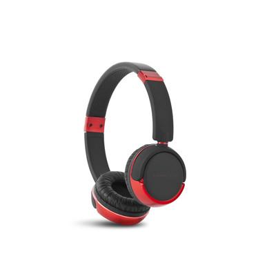 ENERGY DJ 310 Black & Red Freestyle,stylová circumauralní sluchátka s mikrofonem 108 dB,3,5mm