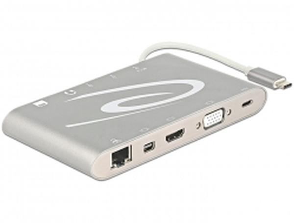 Delock USB Type-C™ 3.1 Dokovací stanice 4K
