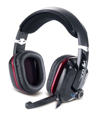 Genius GX Gaming headset - CAVIMANUS HS-G700V Gaming, vibrace, 7.1 virtual