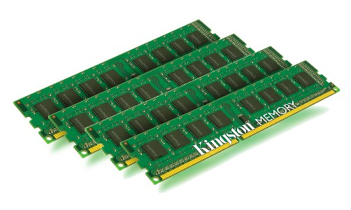KINGSTON DDR3 32GB 1333MHz DDR3 Non-ECC CL9 DIMM (Kit of 4) STD Height 30mm