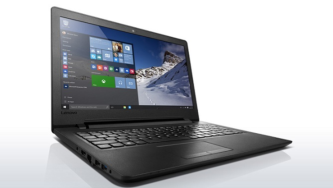 "Lenovo IdeaPad 110-15ACL AMD A6-7310 2,40GHz/4GB/1TB/15,6"" HD/DVD-RW/WIN10 černá 80TJ00AGCK"