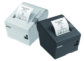 EPSON TM-T88V pokladní tiskárna, USB + ether., černá, se zdrojem C31CA85238
