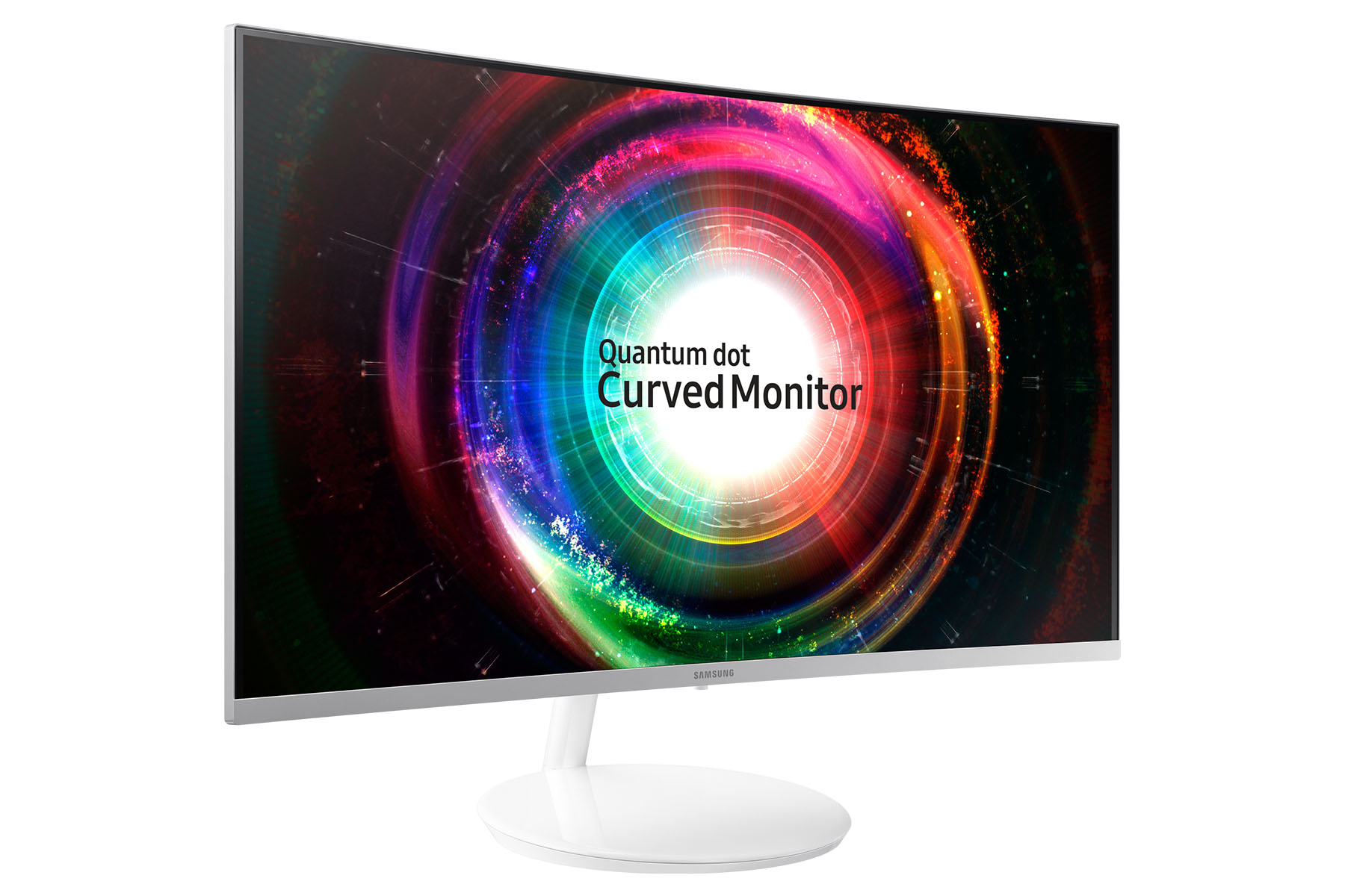 "Samsung LED LCD 32"" C32H711 16:9 VA/2560x1440/4ms/300 cd/m2/HDMI/mDP/Quantum Dot/Prohnutý"