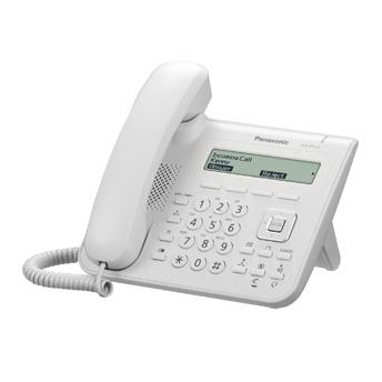 Panasonic KX-UT113NE, stolní IP telefon, bílý