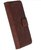 Krusell flipové pouzdro SUNNE 5 CARD Foliocase pro Huawei P10 Lite, hnědá