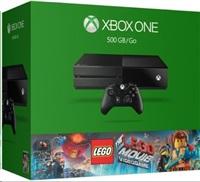ROZBALENO - XBOX ONE 500GB + Lego The Movie Game