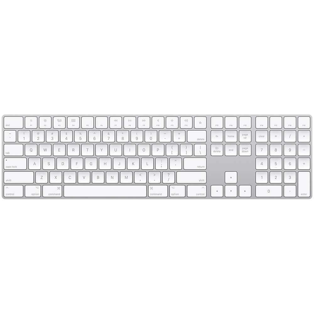 Magic Keyboard s numerickou klávesnicí - Slovak