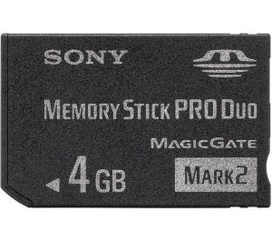Sony Memory Stick Pro Duo MSMT 4 GB