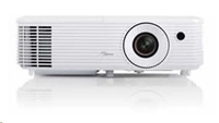 Optoma projektor HD27 (DLP, FULL 3D, 1080p, 3 200 ANSI, 25 000:1, 2x HDMI and MHL support and built-in 10W) - ROZBALENO
