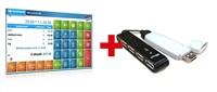 EET CUBE mDS1 dokovací/nabíjecí dock pro Android 4x USB + SW EET-POS
