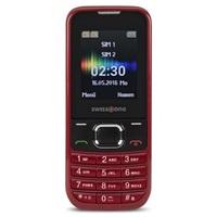 Swisstone SC230 Dual SIM, červená