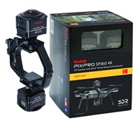 KODAK Action Camera SP360 4K Aerial pack