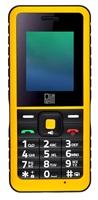 Pelitt Rock, odolný IP67, DUAL SIM, černá-žlutá