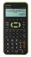 SHARP kalkulačka - ELW531XHGR - zelená