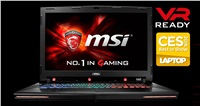 MSI NB GT72VR 6RD-401CZ Dominator, 17.3,IPS 120Hz, i7-6700HQ, 16GB, GTX 1060, 256GB+1TB, DVD±RW, W10H