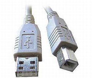 Kábel USB 2.0 typ A-B 3m