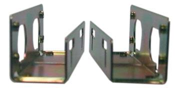 Montážní plech pro HDD, U - profil 1 pár