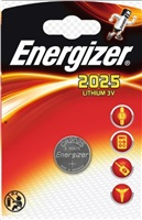 ENERGIZER Lithiové knoflíkové baterie CR2025