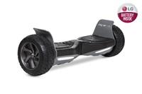 """GOCLEVER City Board SUV s LG baterií, 8"""" off road, černá - kolonožka, hoverboard"""