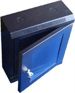 """10"""" rack jednodílný 9U/280 DATACOM černý Skl.dv."""