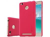 Nillkin zadní ochranný kryt pro Xiaomi Redmi 3 Pro / 3S červená + fólie na LCD