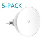 UBNT airMAX PowerBeam5 AC ISO 2x22dBi, 5-PACK [300mm, Client/AP/Repeater, 5GHz, 802.11ac, 10/100/1000 Ethernet]