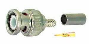 BNC konektor na koaxiální kabel 1ks