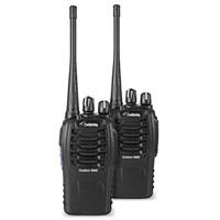 DeTeWe vysílačka Outdoor 9000 DuoCase (2 ks, dosah až 10 km), černá