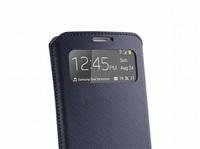 Puro pouzdro VIEW Slim Essential pro Samsung Galaxy S4, modrá - BAZAR