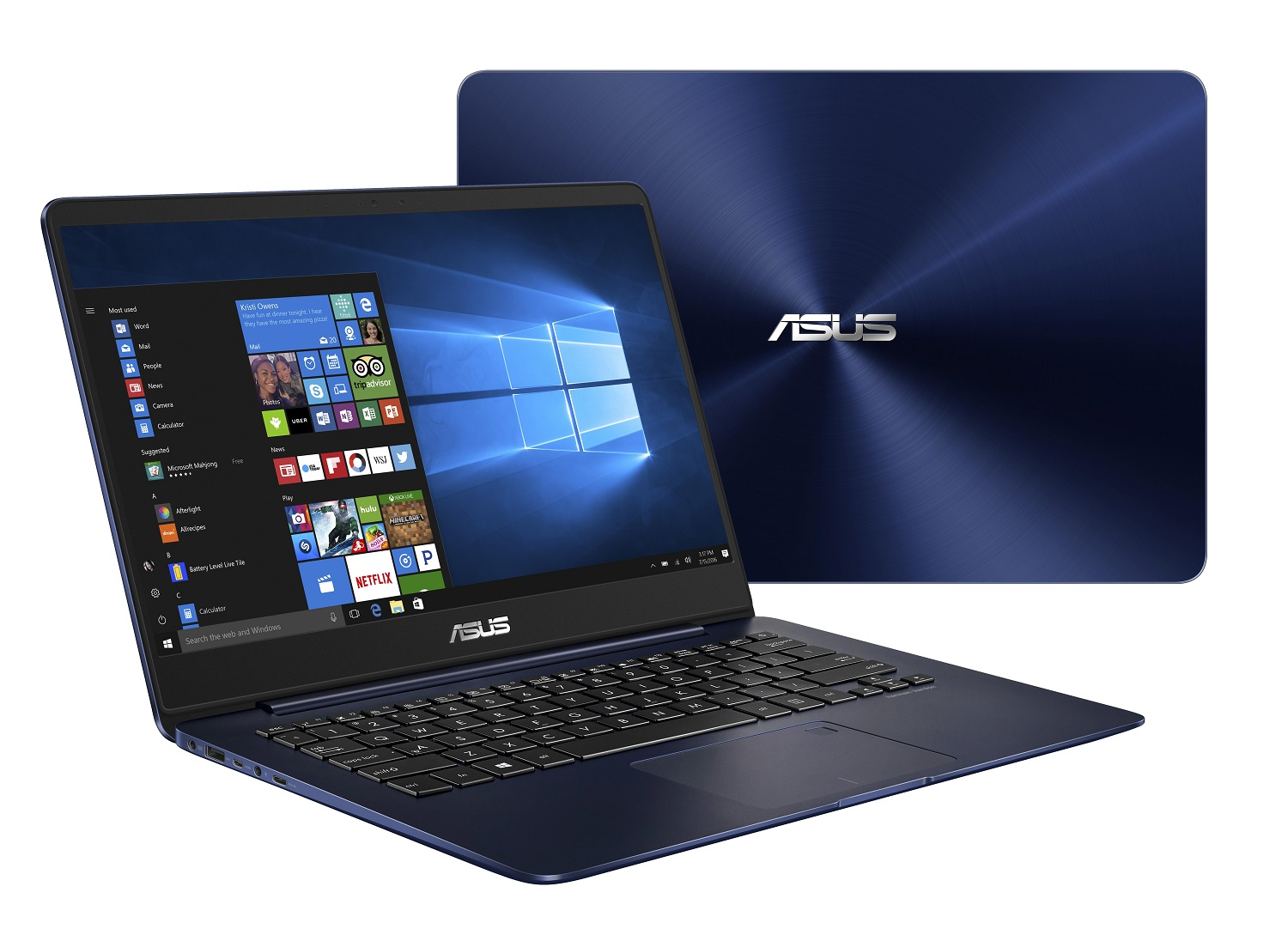 "ASUS UX430UA-GV004T i5-7200U/8GB/256GB SSD M.2/HD graphics/14"" FHD LED matný/W10 Home/Blue"