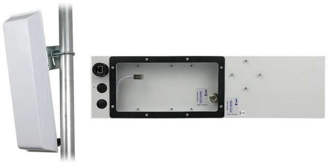 GigaSektor anténa BOX 17dBi/90°, 5GHz, N/F horiz.
