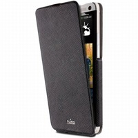 Puro flipové pouzdro Ultra Slim pro HTC One, černá