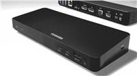 Toshiba OP USB-C Dock/Replicator/Thunderbolt 3 Dock - 2x HDMI, 1xDP, 1xVGA, 1xLAN (RJ-45), 2xUSB-C