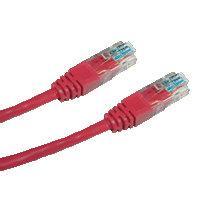 DATACOM Patch cord UTP Cat6 0,5m červený