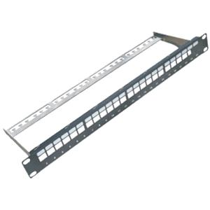 "19"" Neosazený Patch panel 24 port"
