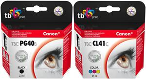 Multipack TB B+CMY ink. komp. s Canon PG-40, CL-41