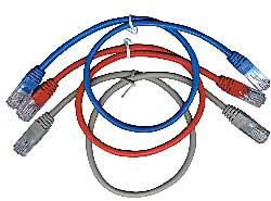 GEMBIRD Eth Patch kabel cat5e UTP 3m - červený