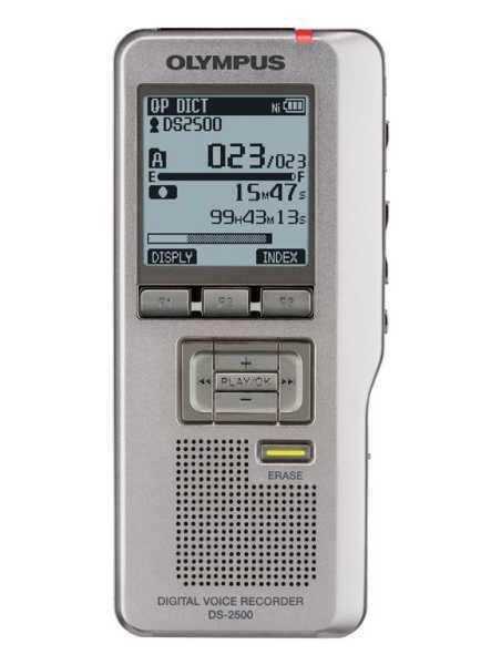 OLYMPUS DS-2500 digitální záznamník na SD karty