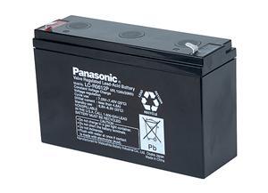 Panasonic olověná baterie LC-R0612P1 6V/12Ah