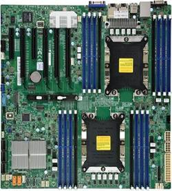 SUPERMICRO MB 2xLGA3647, iC621, 16x DDR4 ECC, 14xSATA3, 2xNVMe, 1xM.2, PCI-E 3.0/4,2(x16,x8),2x 10Gb LAN,IPMI
