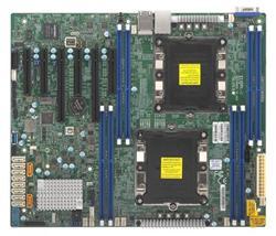 SUPERMICRO MB 2xLGA3647s, iC621, 8x DDR4 ECC, 10xSATA3, 1xM.2, PCI-E 3.0/4,2(x16,x8),2x LAN,IPMI