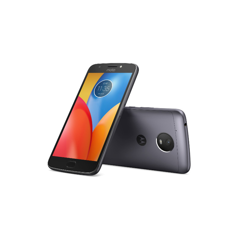 "Motorola Moto E Plus Dual SIM/5,5"" IPS/1280x720/Quad-Core/1,3GHz/3GB/16GB/13Mpx/LTE/Android 7.0/Iron Grey"