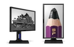 "BenQ BL2423PT 23.8"" IPS LED 1920x1080 20M:1 4ms 250cd DP DVI Pivot repro cierny"