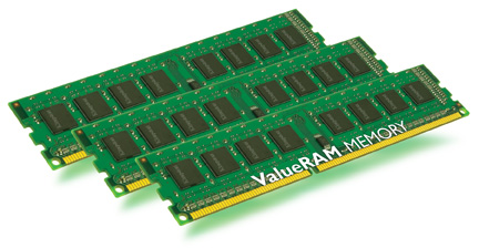 KINGSTON DDR3 24GB 1333MHz DDR3 Non-ECC CL9 DIMM (Kit of 3)